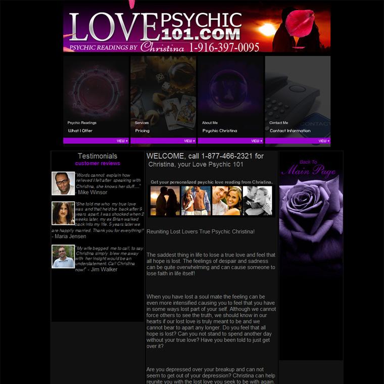 Lovepsychic101.com