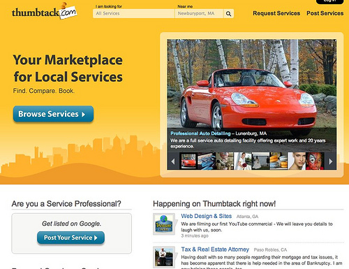 Review: Is thumbtack.com a good resource for web designers?