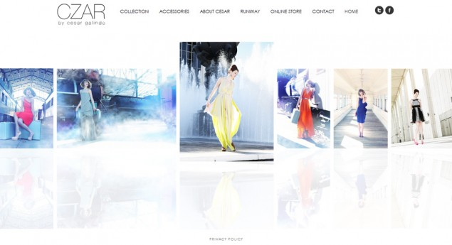 Top quality high fashion web design